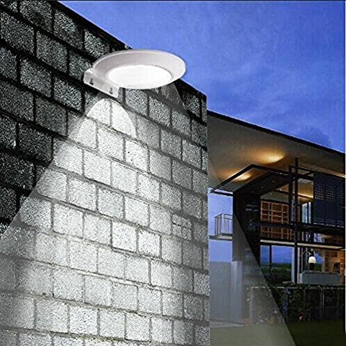 2 Pack Solar Motion Sensor Wall Light, Super Bright 16 LEDs Outdoor Wireless Microwave Spotlight Security Weatherproof Light for Driveway (Energy Star Garage Heater compare prices)