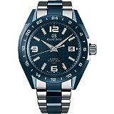 Grand Seiko Sport Ceramic GMT Blue Dial Watch (Color: Blue)