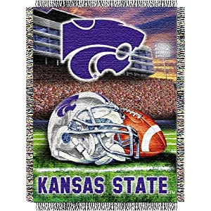 Northwest Kansas State Wildcats Acrylic Tapestry Decorative Throw 48x60 by Northwest