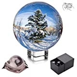 JIHUI Crystal Ball Photography Lensball, K9 Crystal Ball Clear 3-1/5