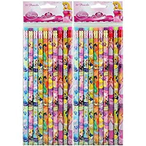 Disney Princess Pencils HB # 2 - 10 Per Pack [2-Pack]