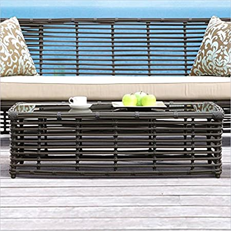 Sunset West Venice Coffee Table in Chocolate
