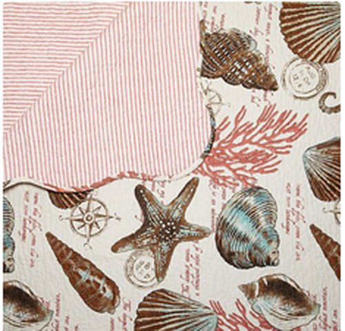 Seashell Throw Blanket front-1031868