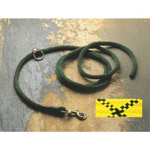 Detail image Mendota Products EZ Trainer Dog Lead/Leash, Hi-Viz Yellow, 1/2-Inch x 8-Feet
