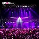 1st���C�u�A���o��+DVD ���񐶎Y����� �uRemember your color.�v