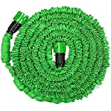 Generic Green 50FT : Garden Extension Magic Hose Natural Bicolor Rubber Latex Tube Blue Green 25FT 50ft 75ft 100FT...