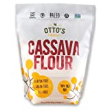 Otto's Naturals 100% Natural Cassava Flour Made from Yuca Root Bag, 2 Pound