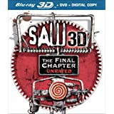 Saw 3D: The Final Chapter (Two-Disc Combo: Blu-ray 3D / Blu-ray / DVD / Digital Copy) ~ Saw: The Final Chapter