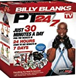 Tae Bo PT 24/7 Billy Blanks DVDs set including B2 Bands & Gloves