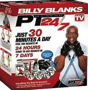 Tae Bo PT 24/7 Billy Blanks 6 DVD set including: B2 Bands & Gloves - region 0