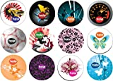 Pasante® Healthcare Halo Condoms - 36 seriously funky designs