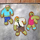 Fred & Friends UNDEAD FRED Zombie Cookie Cutters, Set of 3