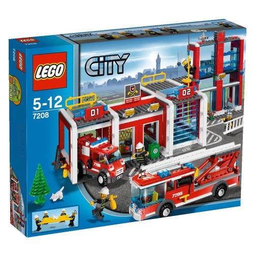 LEGO City 7208 - Große Feuerwehr-Station