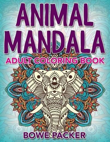 Animal Mandala: Adult Coloring Book