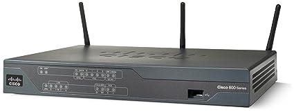 Cisco C881W-E-K9 - Router inalámbrico con conmutador de 4 puertos