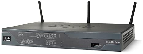 Cisco 881 ETH SEC ROUTER WITH **New Retail**, C881W-E-K9 (**New Retail**)