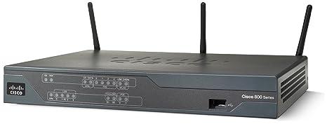 Cisco 881W Routeur sans Fil Commutateur 4 Ports