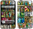 GelaSkins Bookshelf Protective Skin for iPod Touch 4th Generation
