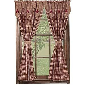 Amazoncom IHF Home Decor Vintage Star Wine Design Panel