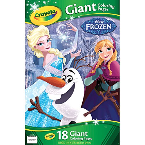 Crayola Frozen Giant Coloring Pages - 1