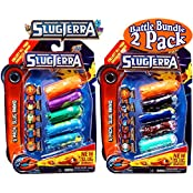 Slugterra Slug Ammo 5 Pack With Online Codes Battle Set Bundle 2 Pack (10 Slug Ammo Total)