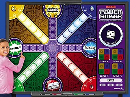 Power Surge: Interactive Physical Science Game - Gr. 4-6