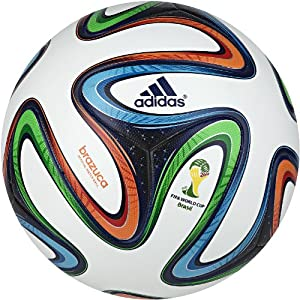 adidas Brazuca FIFA 2014 World Cup Official Match Soccer Ball by adidas