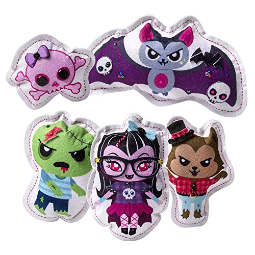 Sew Cool Stuffed Characters 5 Project Kit - Monster - 1