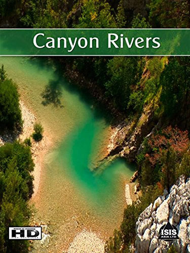 Nature Video Canyon Rivers - Scenery Of Mountains and Rivers with Natural Sounds