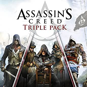 Amazon.com: Assassin's Creed Triple Pack: Black Flag ...