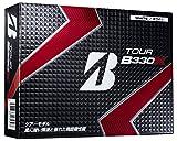 BRIDGESTONE(ブリヂストン) TOUR B TOUR B330X ゴルフボール 1ダース12球入 ホワイト GBWXJ