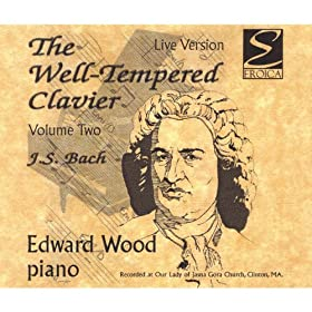 Bach / The Well Tempered Clavier, Volume 2, 3-Disc Collection