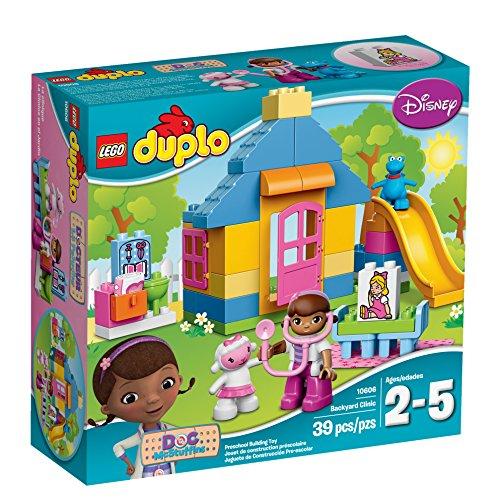 LEGO DUPLO Brand Disney 10606 Doc McStuffins Backyard Clinic Building Kit (Little Times First Slide compare prices)