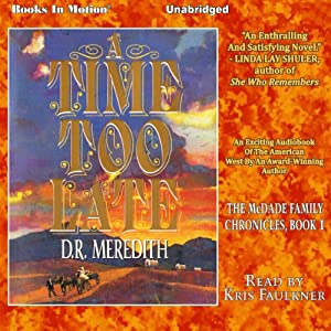 A Time Too Late Audiobook