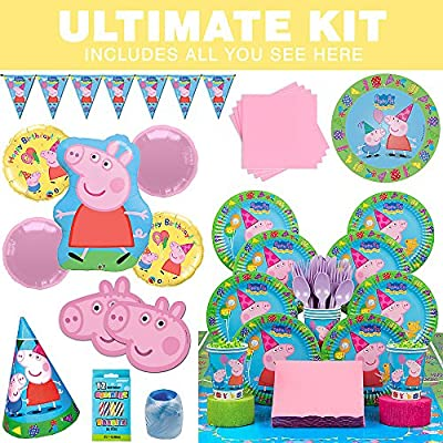 Peppa Pig Ultimate Kit (Serves 8)
