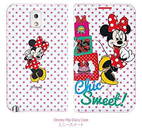 Disney Flip Diary Case ディズニーフリップ ダイアリーケース Galaxy S5/S4/S3/Note3/Note2/Note 対応 (Galaxy Note3, ミニースイート)