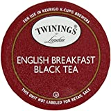 Twinings English Breakfast Tea, K-Cup Portion Pack for Keurig K-Cup Brewers, 24-Count (Pack of 2)