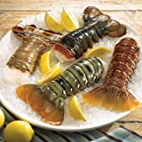 Lobster Gram ATWTS1 AROUND THE WORLD TAIL SAMPLER WITH 4 LOBSTER TAILS by Lobster Gram