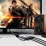 HDMI Cable, Kinps®3 Port HDMI Switch HDMI Splitter High Speed HDMI Cable with Braided Pigtail Cable Supports 3D, 1080P, HD Audio