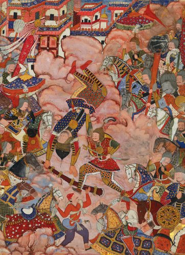 Battle of Hamza Wooden Jigsaw Puzzle