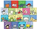 Fiona Watt That's not my 16 Toddlers Books Set Collection Fiona Watt Mermaid, Kittenn, Penguin, Train, Fox, Panda, Goat, Puppy, Prate, Dolly, Fairy, Robot