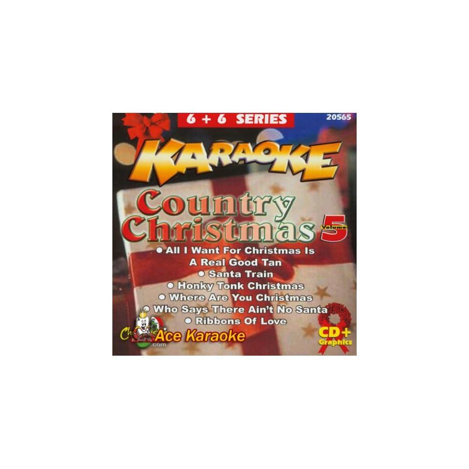Chartbuster Karaoke 6X6 CDG CB20565 Country Christmas Vol  5