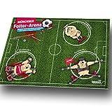 Schreibtischunterlage-Mnchner-Folter-Arena-Alle-Dortmund-Schalke-und-Fuball-Fans-aufgepasst-Gegen-Stress-und-schlecht-gelaunte-Kollegen-einfach-Bayern-Fans-foltern-und-entspannen-Witziges-Geschenk-fr-