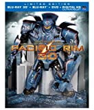 Image of Pacific Rim Collector's Edition (Blu-ray 3D + Blu-ray + DVD +UltraViolet Combo Pack)