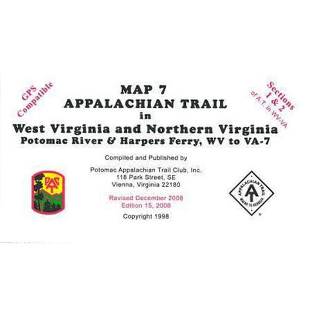 ATC Map 7: West Virginia and Northern Virginia helen williams paul and virginia
