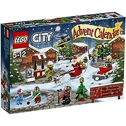 LEGO City - Calendario de Adviento, juegos de construcción (60133)