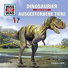 Dinosaurier / Ausgestorbene Tiere (Was ist Was 8) Hörspiel von Manfred Baur Gesprochen von: Crock Krummbiegel, Jacob Riedl, Anna Carlsson