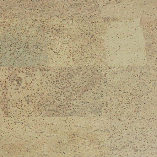 "EZ CORK Floating Floor - GRINGO CREAM- Carton of 8 Planks - 36""x12""x7/16"" (22.99 SqFt) - $5.90 per SF"