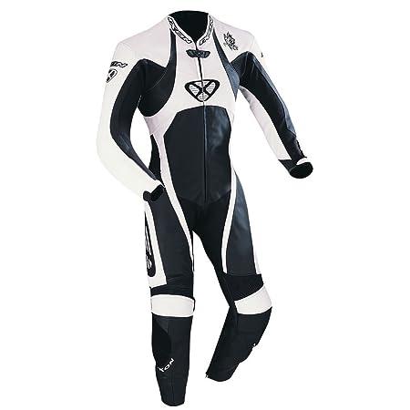 Ixon - Anthemion Combinaison Cuir Femme Noir/Blanc - Taille : L