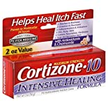 Cortizone 10 Anti-Itch Creme, Maximum Strength, Intensive Healing Formula, 2 oz (56 g)